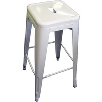 Tolix Xavier Pauchard Replica Metal Stool 750mm White
