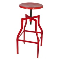 Industry Replica Turner Swivel Bar Stool - Red