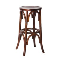 Hertzog Replica Thonet Timber Bentwood Stool 760mm