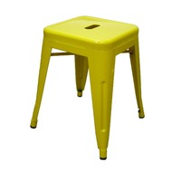 Tolix Xavier Pauchard Replica Metal Stool 460mm Yellow