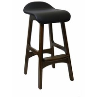 Anakee Replica Erik Buch Danish Timber Bar Stool Chocolate