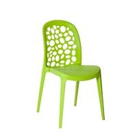 Grace Outdoor Stackable Dining Chair Green
