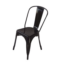 Tolix Xavier Pauchard Replica Dining Chair Black