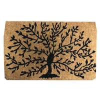 Funky Soho Doormat Knowledge Tree Design 45cm x 75cm