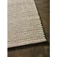 The RUG Collection Ropeweave Wool Rugs 160cm x 230cm Beige