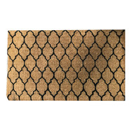 Funky Soho Doormat Knowledge Morocco Design 45cm x 75cm