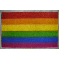 Rainbow Heavy Duty Doormat Outdoor 50cm x 80cm