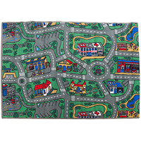 Children's Rug City Roads play mat 100cm x 150cm