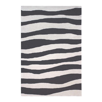 Colorscope Rugs Outdoor Anywhere Waves Acrylic rug 155 x 225cm Charcoal
