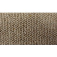 Carramar 100% Wool Level Loop Pile Stonecroft Beige Carpet PLM