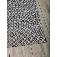 THE RUG COLLECTION Rugs FLATWEAVE Wool BRAID HIVE 200x290cm Charcoal