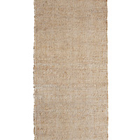 Jute Hall Runner Natural Coarse Hallway Rug DISHA 70cm x 250cm