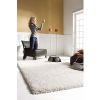 Italtex Rugs Ultimate Thick Shaggy Rug 200 x 290cm Silver Grey