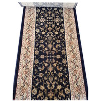 Italtex Diamond 100% Wool Floral Hall Runner 67cm wide
