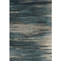 Atlantic Frizze 1.6m x 2.3m Polyester Rug Turquoise Blue 6993