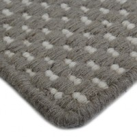 Bayliss Rugs Grain Stone Ivory Hand Woven Wool 160cm x 230cm