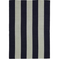 Bayliss Rugs Habitat French Navy Hand Woven Wool 1.6m x 2.3m