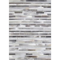 Bayliss Rugs Cowhide Stripe Grey Cowhide 200cm x 300cm