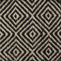 Bayliss Rugs Herman Diamond Taupe/Black Wool 250cm x 300cm