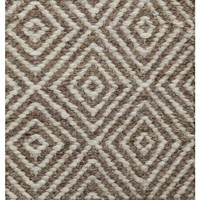 Bayliss Rugs Herman Diamond Camel/Ivory Wool 250cm x 300cm