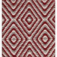 Bayliss Rugs Herman Diamond Red Wool 300cm x 400cm
