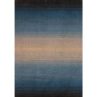 Bayliss Rugs Feathers Blue Grey Tanager Wool 200cm x 300cm