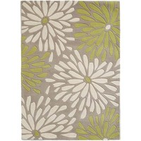 Bayliss Rugs Lollini Grey-Lime Wool 200cm x 300cm