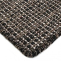 Bayliss Rugs Thames Natural Dark Tan/Black Wool 250cm x 350cm