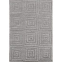 Bayliss Rugs Escape Light Grey Hand Knotted Wool 250cm x 350cm