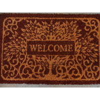 Welcome Tree Heavy Duty Doormat Outdoor 40cm x 60cm