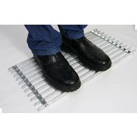 Heavy Duty Galvanised Metal Boot Scraper Door Mat 600 x 300mm