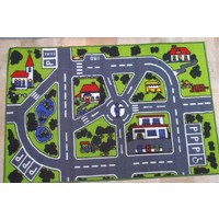 Children's Rug ROADS Activity Cars Play mat 100 x 150cm