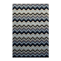 Colorscope Rugs Outdoor Anywhere Chevron Rug Grey Acrylic 155 x 225cm