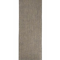 Seaspray Pindot Silver Hall Runner Rubber Backed 67cm wide