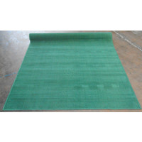 Synthetic Overlocked Rug Poly 180cm x 275cm Green