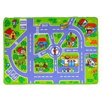 Children's Rug Play mat City Streets 80cm x 125cm
