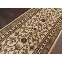 Italtex Regent Wool Hall Runner 80cm wide Cream
