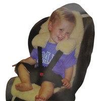 Genuine Australian Natural Sheepskin Car Seat and Pram Liner