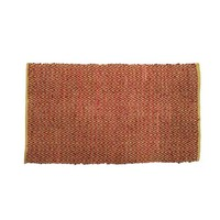 Indoor Leatherweave mat 80cmx130cm Mat Graphic Red