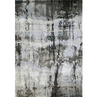 The RUG Collection Mercury Hand Tufted Art Silk 160x230cm Grey