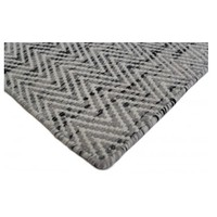 Bayliss Rugs Brazil Smooth Grey Hand Woven Wool 160cm x 230cm