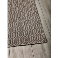 THE RUG COLLECTION BRAID WAFFLE FLATWEAVE WOOL Rug 160cm x 230cm