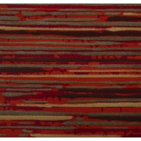 Havana Red Stripes Designer Rug 160cm x 230cm