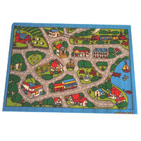 Children's Rug Play mat Edge City 94cm x 133cm