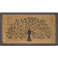 Willow Tree Heavy Duty Doormat Outdoor 40cm x 70cm