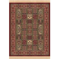 Chiraz Art Silk Carpet Rug Mat 100cm x 137cm H261-12 red