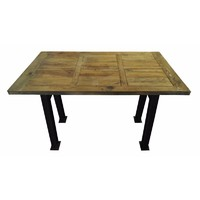 Rustic Bar High Recycled Pine Timber Table 1600mm