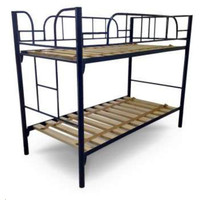 Hypersonic Malibu Metal Single over Single Domestic Bunk Bed