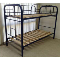 Hypersonic The Kelly Metal Single over Single Domestic Bunk Bed
