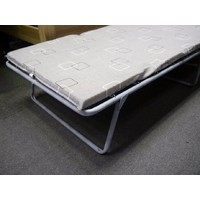 Hypersonic The Supersleepa Standard Metal Single Folding Bed 76cm